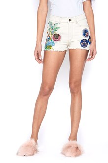 MR & MRS ITALY patch shorts