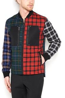 LANVIN patchwork bomber jacket