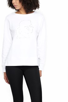 KARL LAGERFELD studded karl sweatshirt