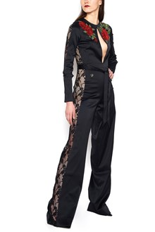 PHILIPP PLEIN embroidered roses jumpsuit
