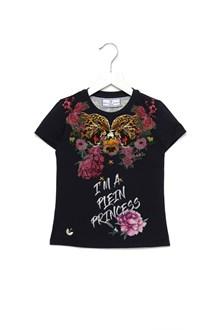 PHILIPP PLEIN JUNIOR t-shirt 'i'm a plein princess'