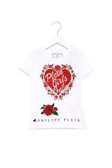 PHILIPP PLEIN JUNIOR t-shirt 'plein grls only'