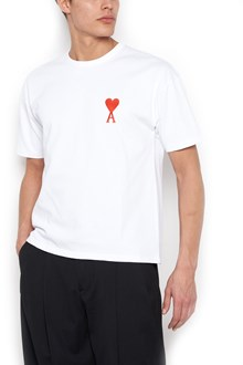 AMI ALEXANDRE MATTIUSSI logo t-shirt