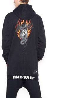 UNRAVEL 'snake' hoodie