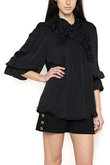 CHLOÉ collar ruffles blouse