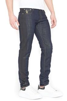 ALEXANDER MCQUEEN jeans banda laterale