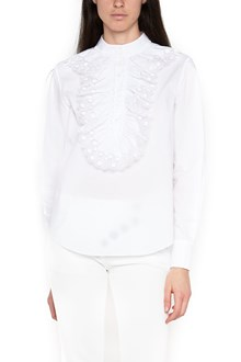 CHLOÉ rouches lace shirt
