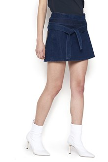 J.W.ANDERSON mini skirt with leather pocket