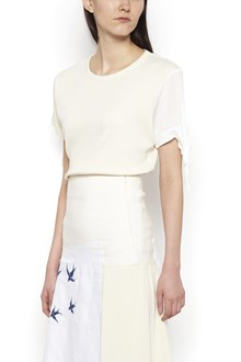 J.W.ANDERSON bow sleeve t-shirt