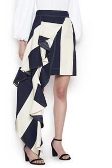 CALVIN KLEIN 205 W39 NYC asymmetrical skirt