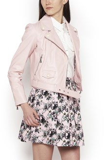 BOUTIQUE MOSCHINO white pearls leatehr jacket