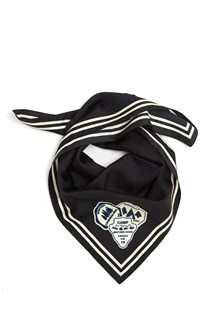 DSQUARED2 printed patch foulard