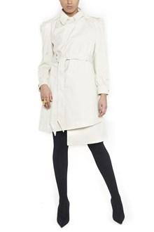 BALENCIAGA 'pulled feminine coat' trench coats
