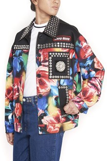 MIU MIU bomber jacket with applications