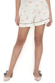 MIU MIU dots and bow shorts