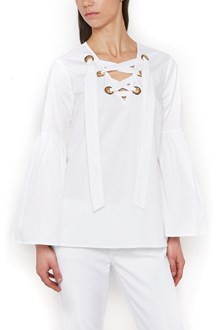 MICHAEL MICHAEL KORS lace up shirt