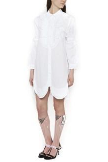 PRADA 'scallopped'chemisier dress
