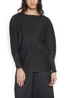 PLEATS PLEASE ISSEY MIYAKE 'rib pleats' sweater