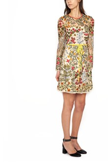 REDVALENTINO embroidered dress