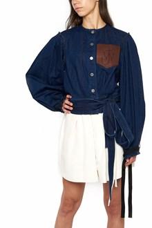 J.W.ANDERSON giacca denim tasca logo