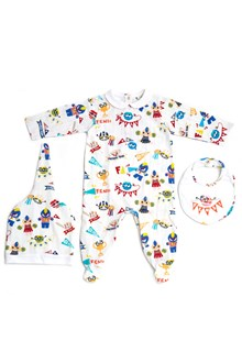 FENDI KIDS rumy all over printed set