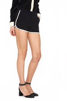 REDVALENTINO contrast edges shorts