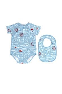 DOLCE & GABBANA 'love family' body + bib