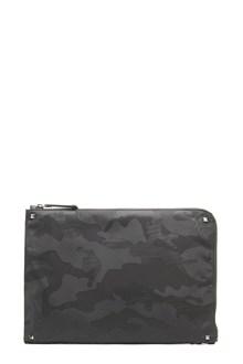 VALENTINO GARAVANI camouflage clutch