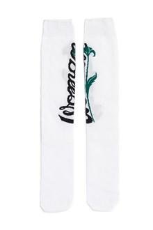 OFF-WHITE 'woman' long socks