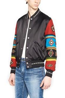 SAINT LAURENT 'teddy' bomber jacket