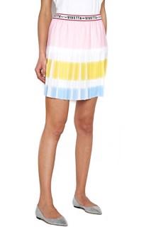 VIVETTA pleated mini skirt
