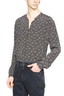 SAINT LAURENT etnic printed shirt