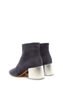 MM6 BY MAISON MARGIELA metallic heels ankle boot