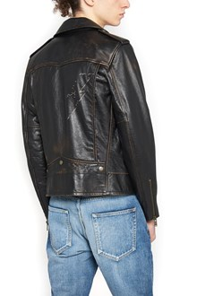 SAINT LAURENT thunder biker jacket