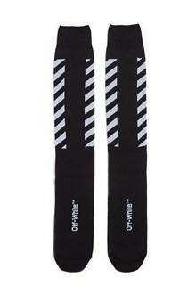 OFF-WHITE 'diag' long socks