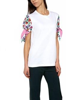 SALVATORE FERRAGAMO flower sleeves t-shirt