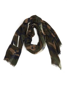 VALENTINO GARAVANI camouflage foulard