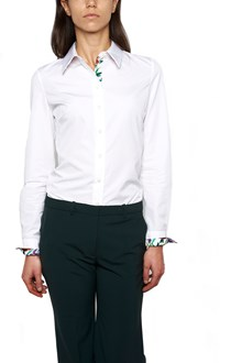 SALVATORE FERRAGAMO floreal cuffs shirt