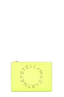 STELLA MCCARTNEY logo clutch