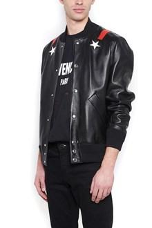GIVENCHY applicated stars bomber jacket