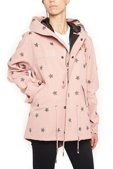 AS65 crystals stars parka jacket