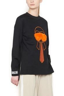 FENDI sequins karlito sweatshirt
