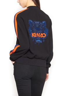 KENZO embroidered logo bomber jacket