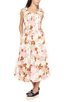 KENZO floral printed long dress