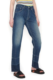 LOEWE embroidered phone jeans