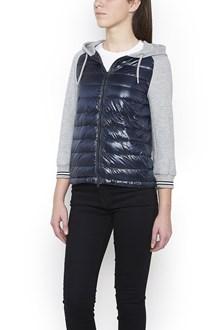 HERNO nylon inserts hoodie