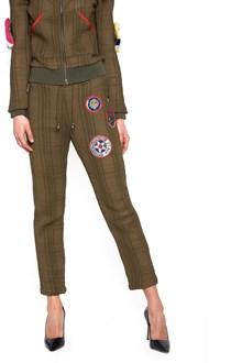 MR & MRS ITALY patch sweatpants