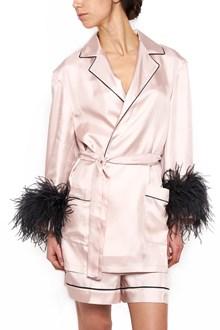 PRADA feathers cuffs dressing