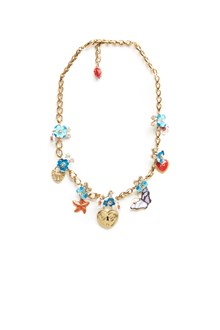DOLCE & GABBANA charms necklace