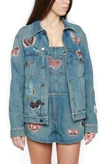 VALENTINO embroidered denim jacket